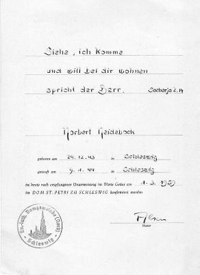 Konfirmationsspruch Karte.Das Virtuelle Klassentreffen In Schleswig Part 309